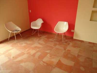 chão e parede