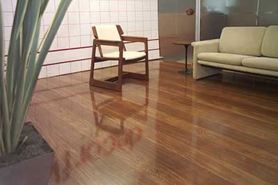 chão da sala