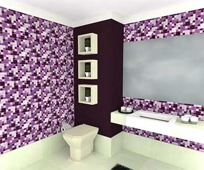 como faze decoração de banheiros