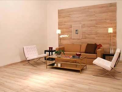 para os cômodos do apartamento