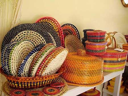 chapéis de palha