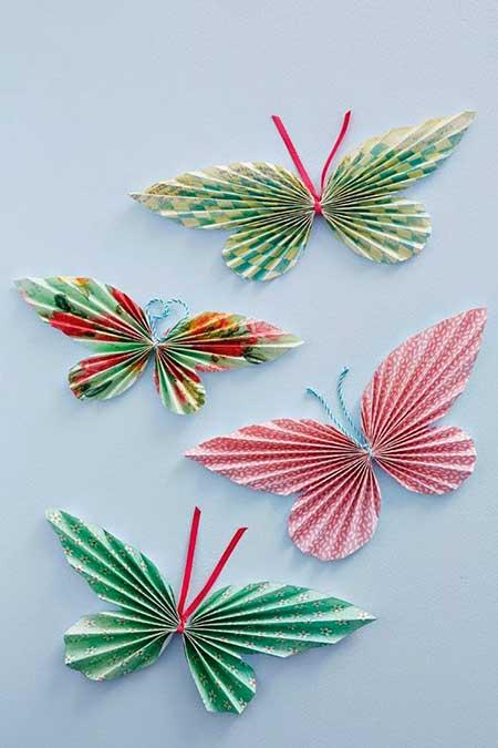 borboletas de parede