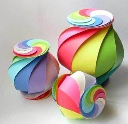 artesanato com papel : Como Fazer Artesanato com Papel: Passo a Passo