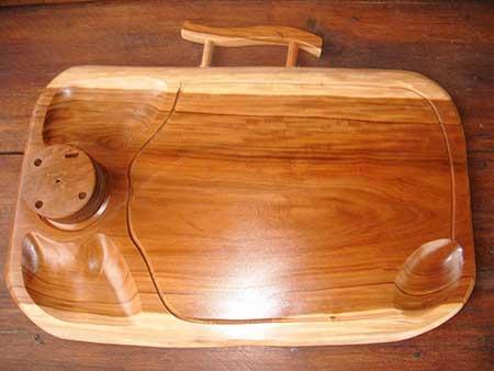 como fazer artesanato com madeira