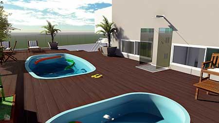 Imagens de Deck para Piscina