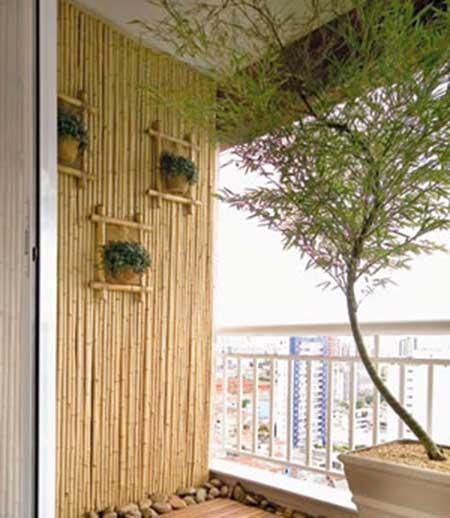 dicas de decoração com bambu
