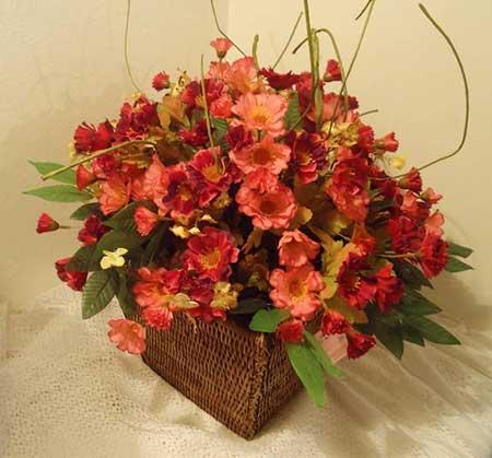dicas de flores artificiais
