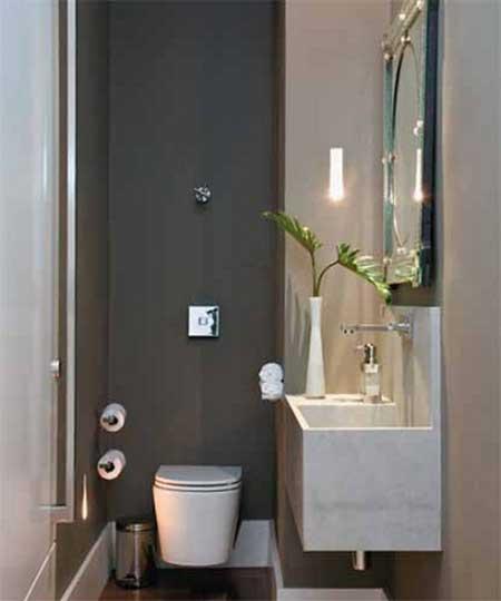 lavabo pequeno decorado ideias decora o fotos On lavabos pequenos baratos