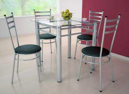 modelos de mesa com quatro cadeiras