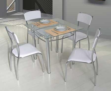 Mesa com quatro cadeiras pequenas grandes fotos ideias - Mesas pequenas ...