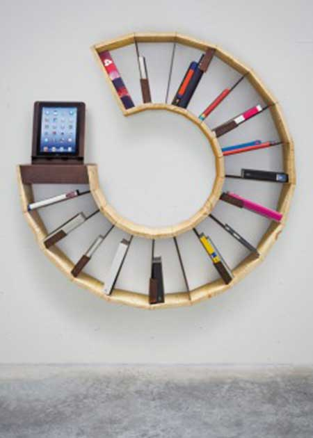 modelos de prateleiras de livros
