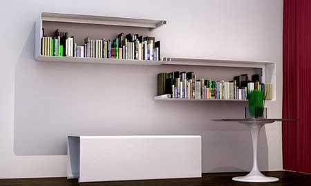 imagens de prateleiras de livros