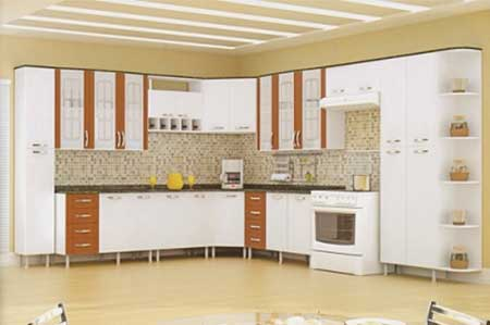 Revestimento para Cozinha Americana, Moderna e Industrial