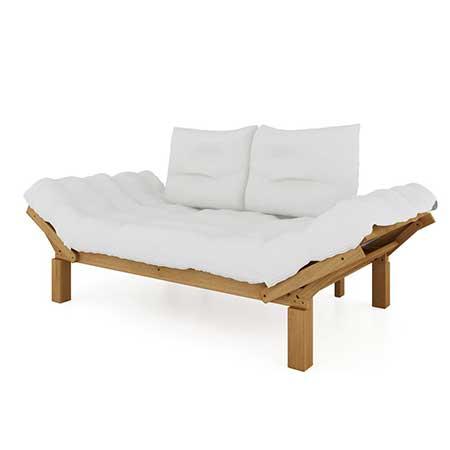 dicas de sofá de madeira