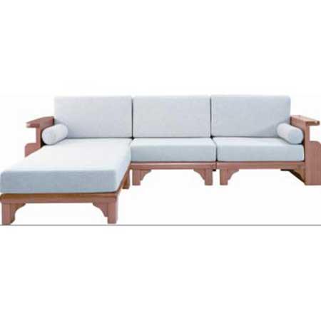 Sof de madeira fotos dicas modelos decora o - Modelos de cojines para sofas ...