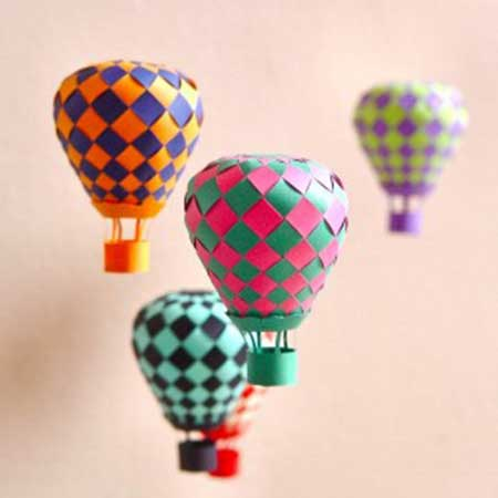 balões feitos a mão