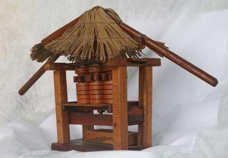 fotos de artesanato com madeira