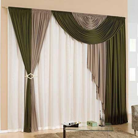 Cortinas persianas fotos modelos dicas imagens for Modelos cortinas salon