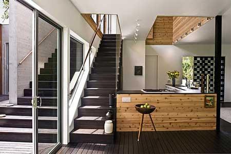 fotos de modelos de escadas