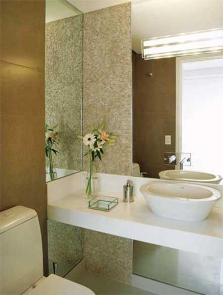 ideias decoracao lavabo:Fotos de Lavabos Modernos (Dicas, Imagens, Decoração)