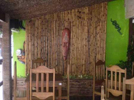 como decorar com bambu