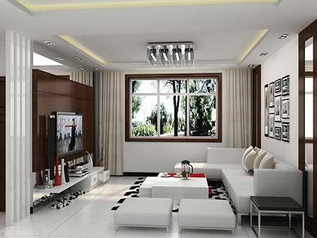 Salas de luxo decoradas simples pequenas grandes fotos for Living room decor for small spaces