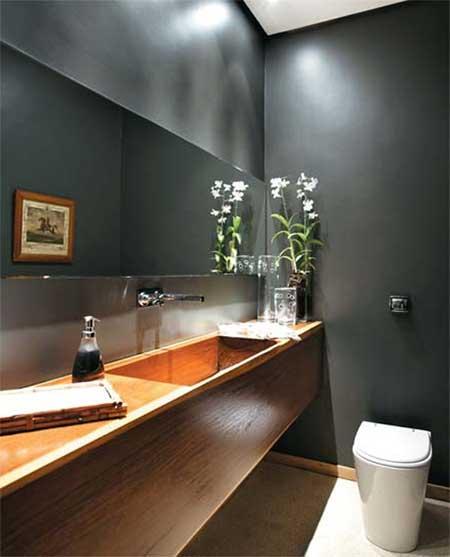 Fotos de lavabos modernos dicas imagens decora o for Lavabo minimalista