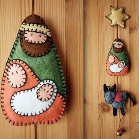 fotos de artesanatos de natal