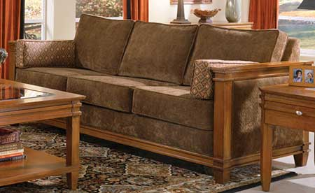 modelos de sofá de madeira