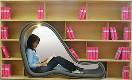 modelos de estantes para livros