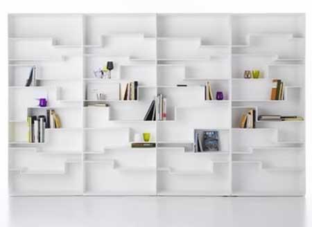 Estantes livros modernas