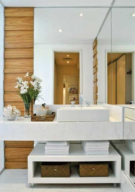 fotos de lavabos modernos