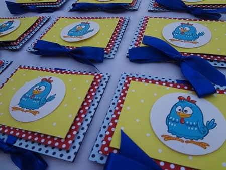 convites decorados para aniversário