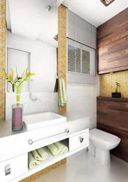 decoracao de lavabo pequeno:Lavabo Pequeno Decorado: Ideias, Decoração, Fotos