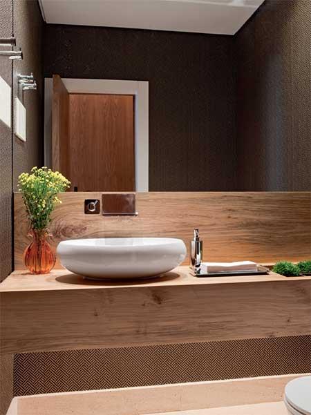 Fotos de lavabos modernos dicas imagens decora o for Lavamanos empotrados