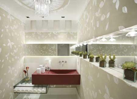 decoração de lavabos modernos