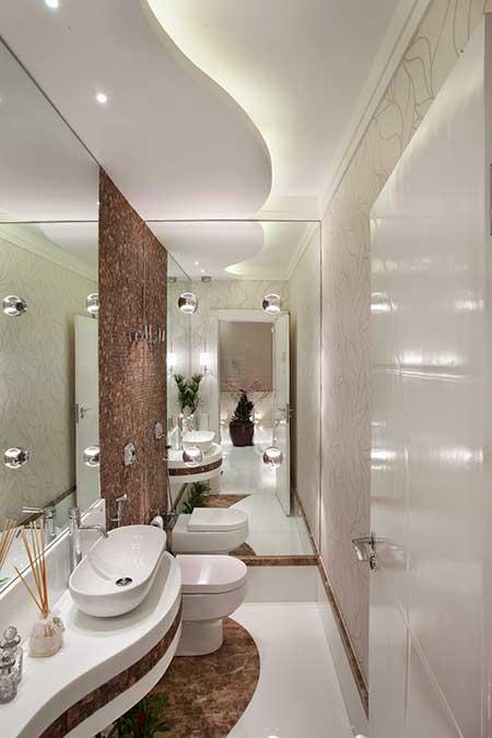 imagens decoracao lavabo:Fotos de Lavabos Modernos (Dicas, Imagens, Decoração)