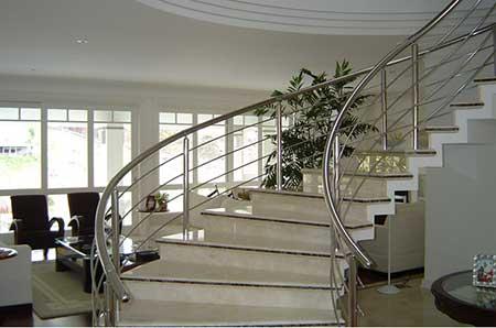 dicas de modelos de escadas