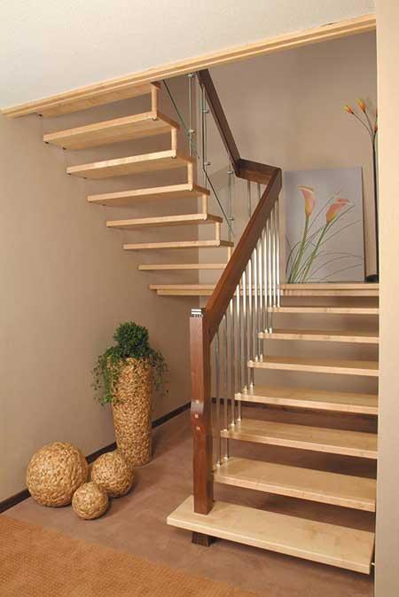 Modelos de escadas fotos imagens sugest es decora o - Como subir muebles por escalera caracol ...