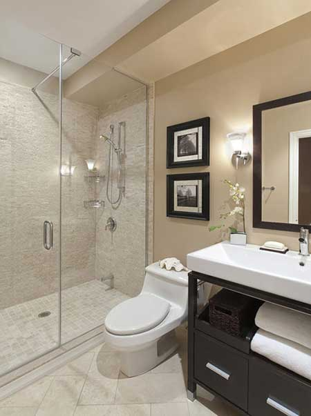 Model 30 Great Pictures And Ideas Of Neutral Bathroom Tile Designs Ideas