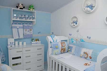 fotos de paredes infantis