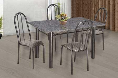 fotos de mesa com 4 cadeira