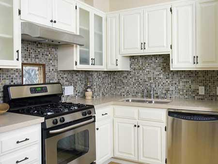 foto de revestimento de cozinha