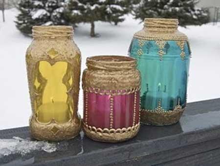 artesanatos com vidro
