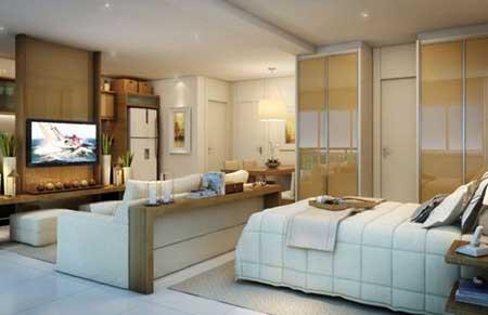 50 apartamentos decorados fotos dicas imagens for Fotos de apartamentos bonitos