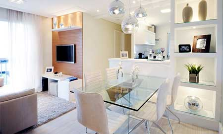 50 dicas como decorar apartamentos pequenos for Acabados para apartamentos pequenos