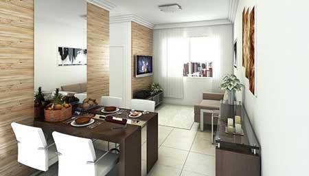 imagens de apartamentos decorados