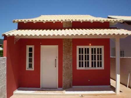 30 fachadas de casas pequenas simples modernas fotos for Casa moderna baratas