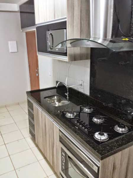 Decoração da Cozinha » Cozinha Planejada para Apartamento