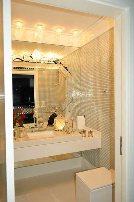 fotos de decoração de lavabos